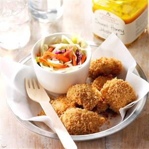 Zingy Baked Chicken Nuggets Recipe