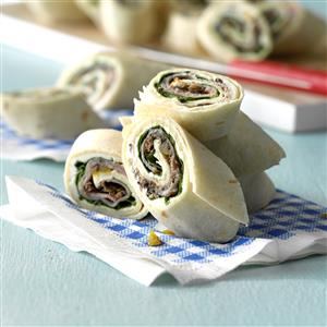 Zippy Party Roll-Ups Recipe