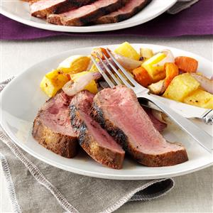Zippy Sirloin Steak Recipe