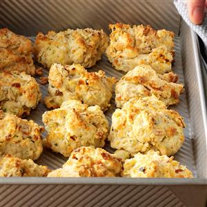 Zucchini & Cheese Drop Biscuits Recipe