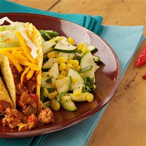 Zucchini & Corn with Cilantro Recipe