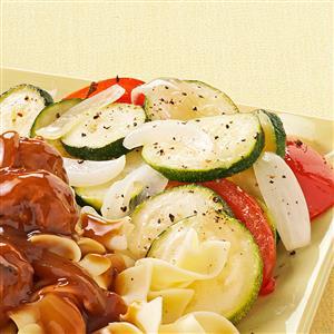 Zucchini & Tomato Saute Recipe