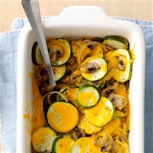 Zucchini Mushroom Bake Recipe