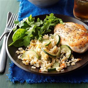 Zucchini Rice Pilaf Recipe