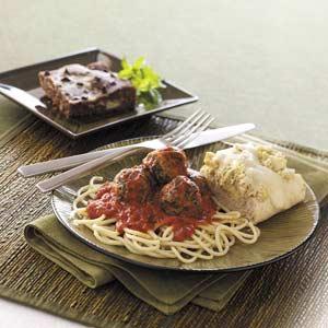 Marinara Turkey Meatballs Recipe