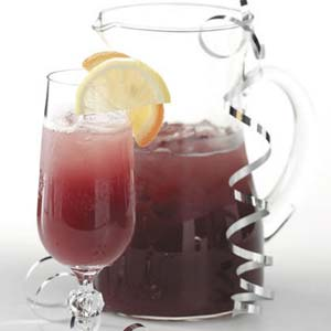 Bubbly Cranberry Punch Recipe