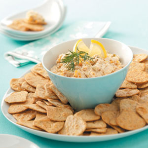 Salmon Cheese Spread Recipe