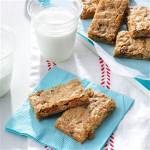 Cinnamon-Raisin Granola Bars Recipe
