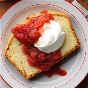 Slow-Cooked Strawberry Rhubarb Sauce Recipe