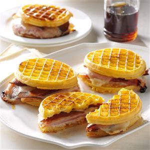 Waffle Monte Cristos Recipe