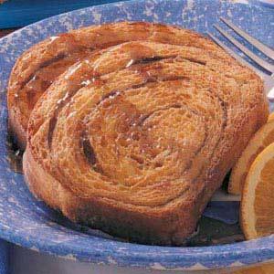 Overnight Orange French Toast Recipe