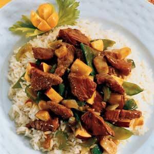 Curried Lamb Stir-Fry Recipe
