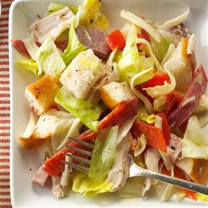 Meat Lover's Bread Salad Recipe