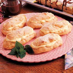 Traditional Eclairs Recipe