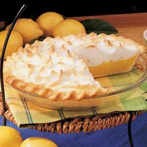 Savory Lemon Meringue Pie Recipe
