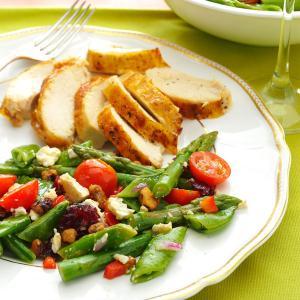 Asparagus & Snap Pea Salad Recipe