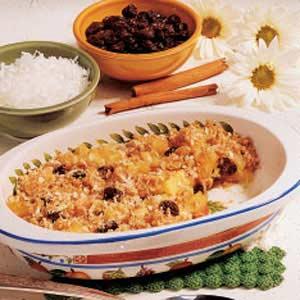 Pineapple Raisin Crisp Recipe