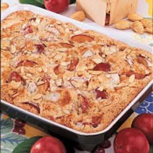 Almond Plum Kuchen Recipe