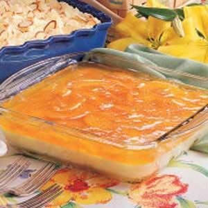 Peaches 'n' Cream Salad Recipe