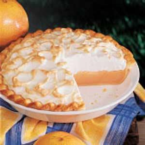 Grapefruit Meringue Pie Recipe