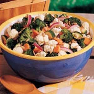 Grandma's Sweet-Sour Veggies Recipe