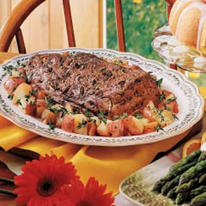 Roasted Tenderloin and Red Potatoes Recipe