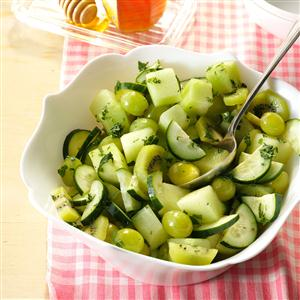 Honeydew Salad with Lime Dressing Recipe