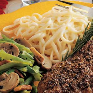 Two-Cheese Linguine Recipe