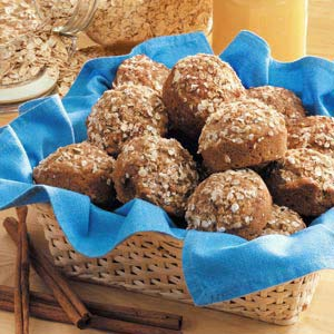 Three-Grain Muffins Recipe