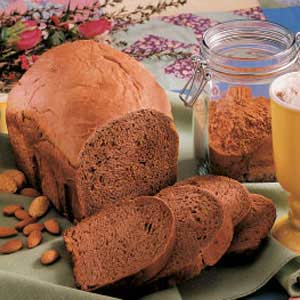Cocoa Almond Bread Recipe