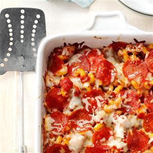 Pizza Pasta Casserole Recipe