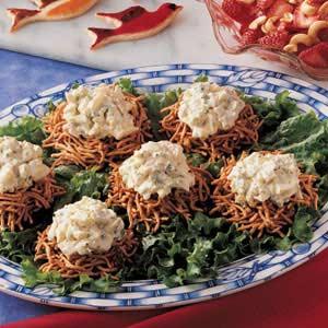 Bird's Nest Egg Salad Recipe