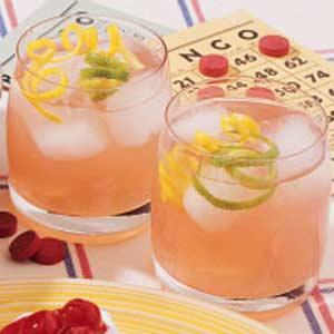 Simple Lemon Berry Pitcher Punch Recipe