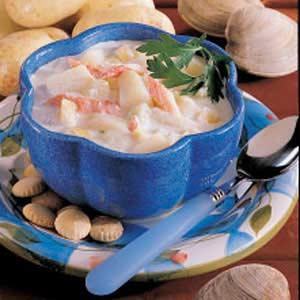 Chunky Seafood Chowder Recipe