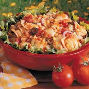 Spicy Ravioli Salad Recipe