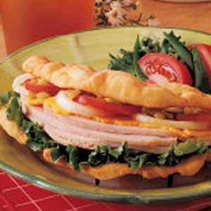 Fry Bread Sandwiches Recipe