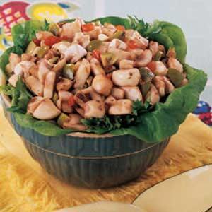 Mushroom Olive Salad Recipe
