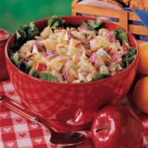 Lemony Chicken Fruit Salad Recipe