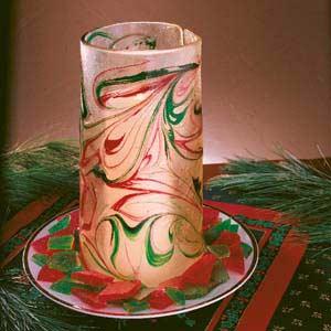 Broken Glass Candle Holder Recipe