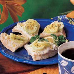 Cucumber Pita Wedges Recipe