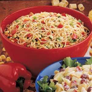 Italian Spaghetti Salad Recipe Recipe