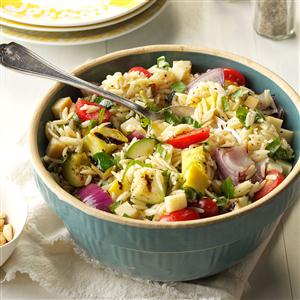 Farmers Market Orzo Salad Recipe
