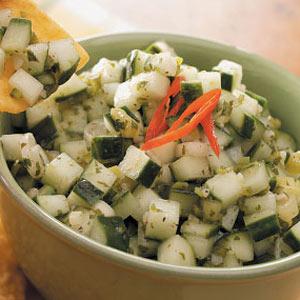 Lime Cucumber Salsa Recipe