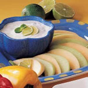 Ginger Lime Dip Recipe
