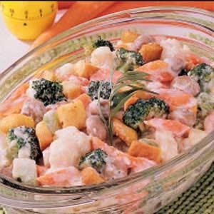 Vegetables Mornay Recipe
