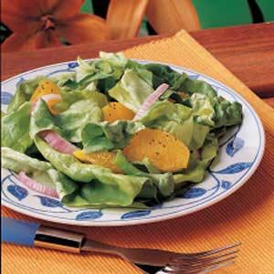Orange-Onion Lettuce Salad Recipe