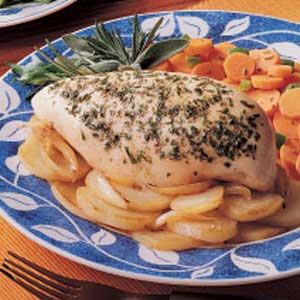 Chicken and Garlic Potatoes Recipe