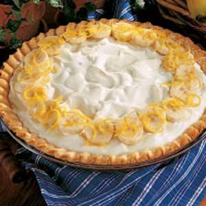 Creamy Banana Pie Recipe