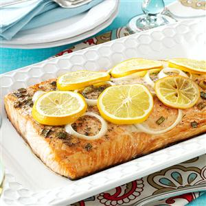 Lemon Grilled Salmon Recipe