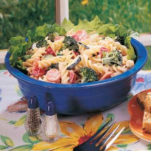 Vegetable Garden Pasta Salad Recipe